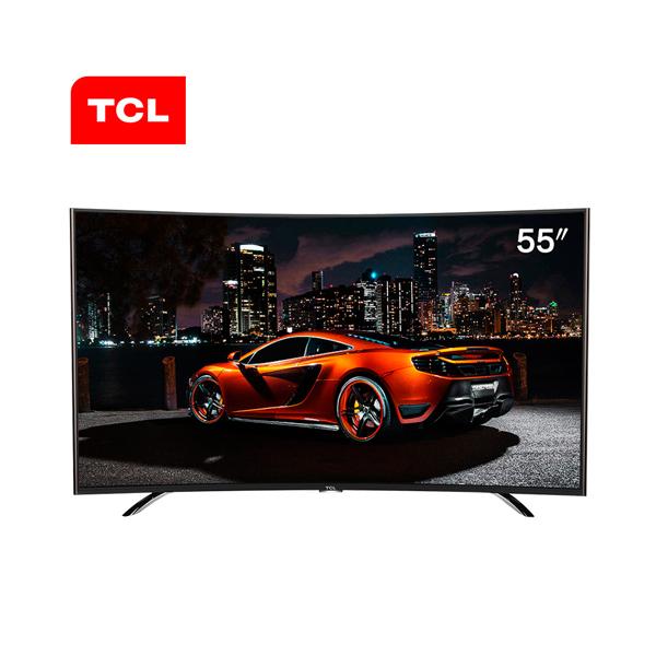TCL L55A980CUD 55英寸 4K超高清 曲面 安卓智能 液晶电视