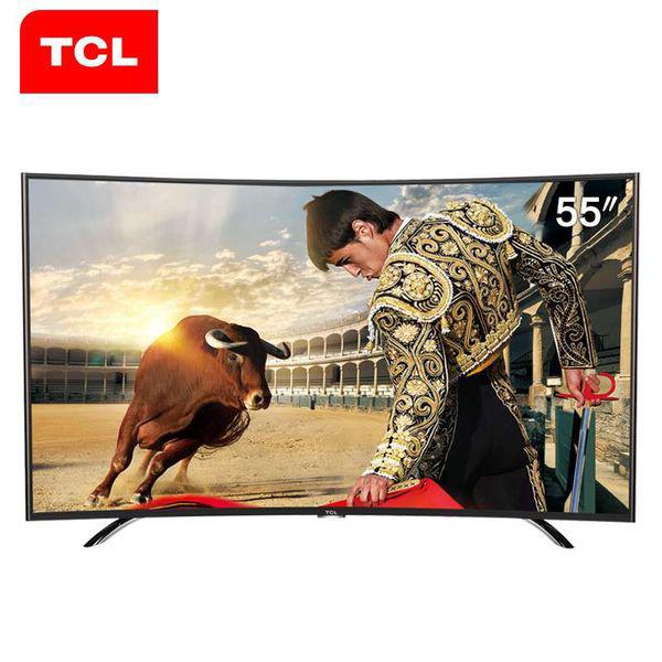 TCL L55H8800A-CUDS 55英寸 4K超高清 内置WiFi 曲面 智能网络 液晶电视